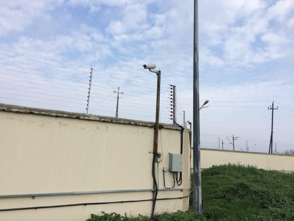 فنس الکتریکی صنعتی