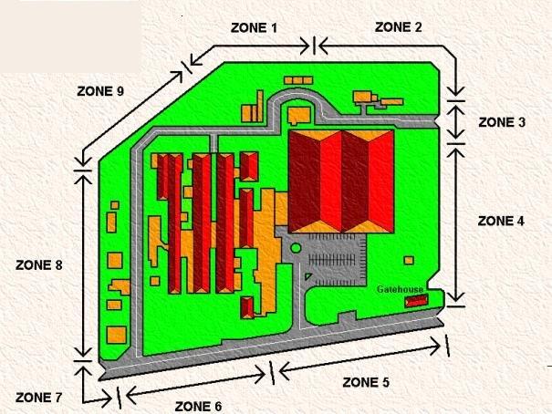 فنس الکتریکی - حصار الکتریکی صنعتی