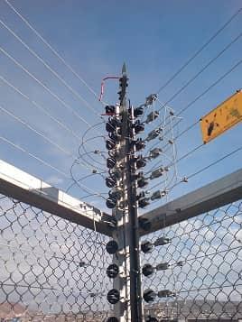فنس الکتریکی مخصوص صنایع و تاسیسات