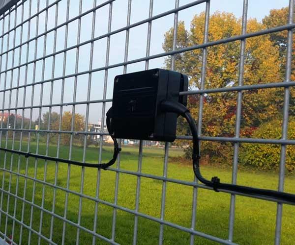 سیستم حفاظت پیرامونی هوشمند سنسور های نقطه ای