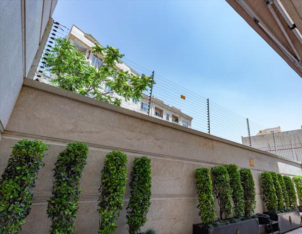 پروژه اجرا شده مجتمع مسکونی، قیطریه