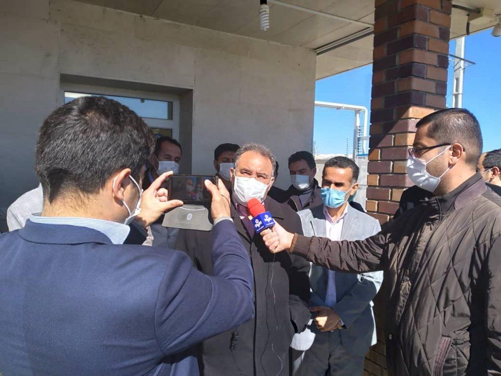 افتتاح فنس الکتریکی تصفیه خانه ابهر و خرم رده